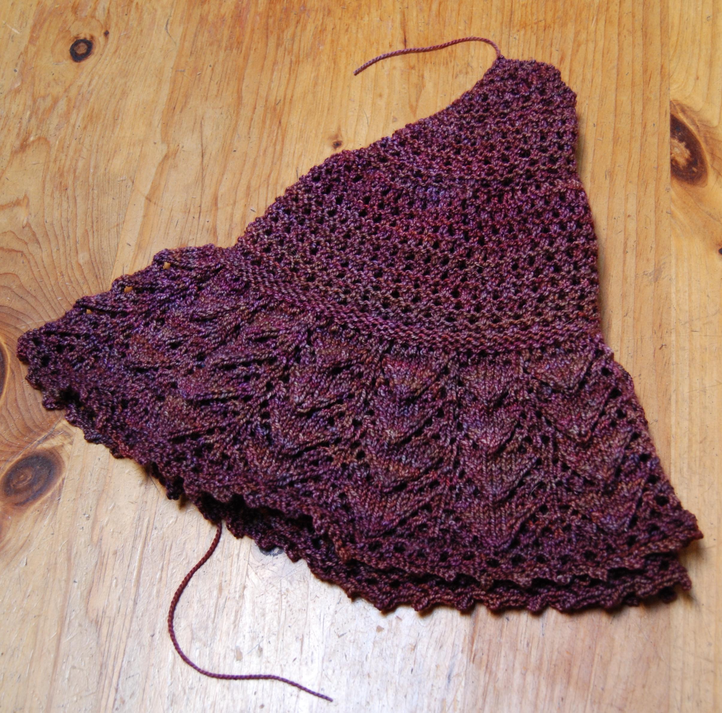 a quarter scarf