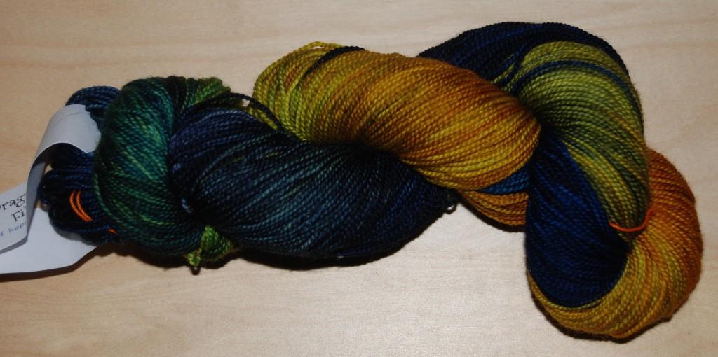 Dragon Sock - Van Gogh's Sunflowers