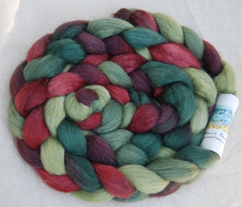 Greenwood Fiberworks - BFL with Tussah Silk